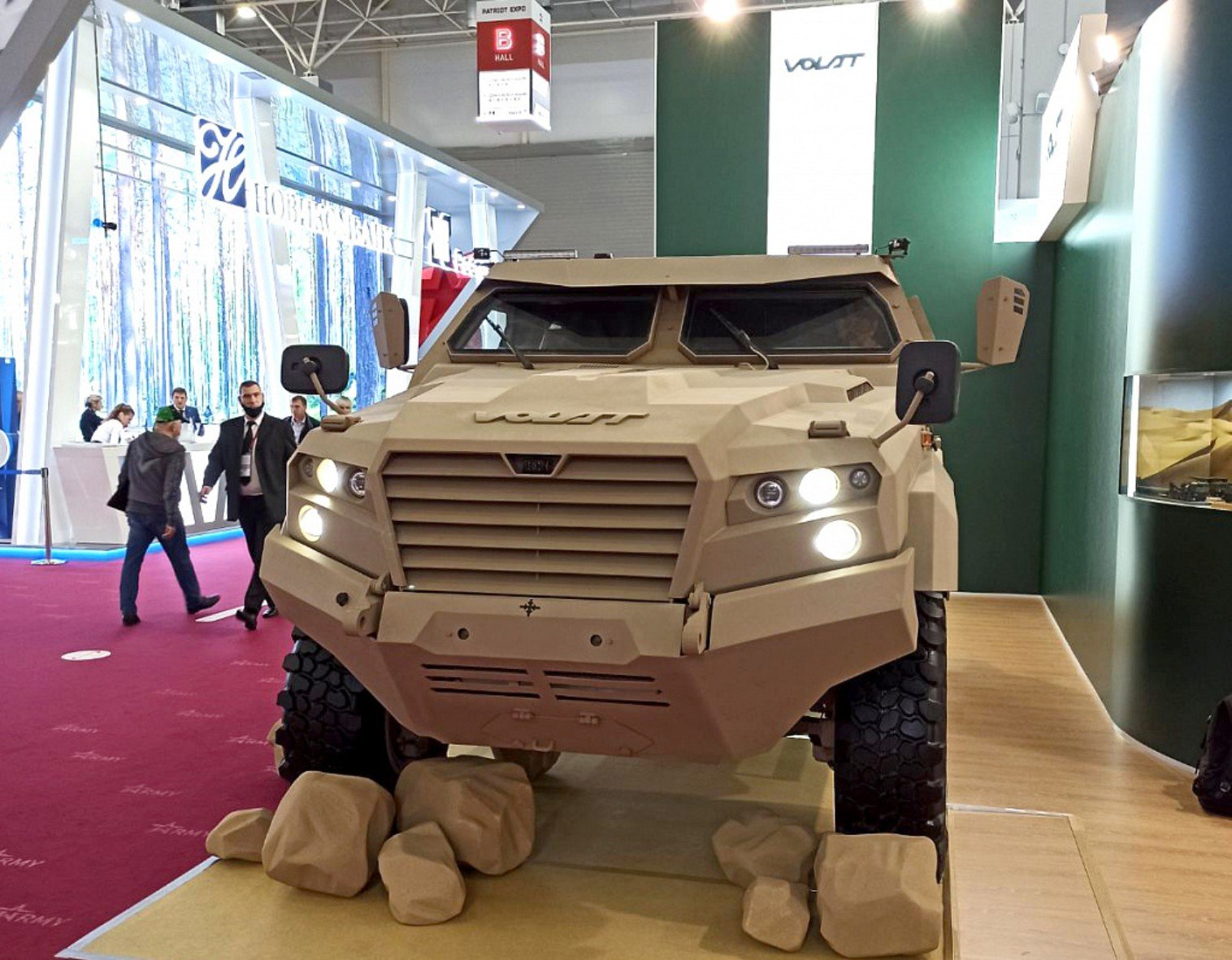 Belarus to showcase new light armoured vehicle at IDEX ...